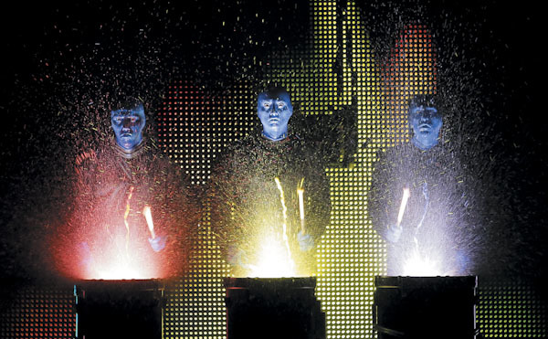 Want to join the Blue Man Group? There's an open casting call in Chicago