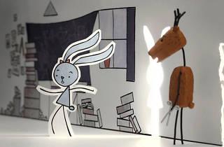 El conejo y el venado
