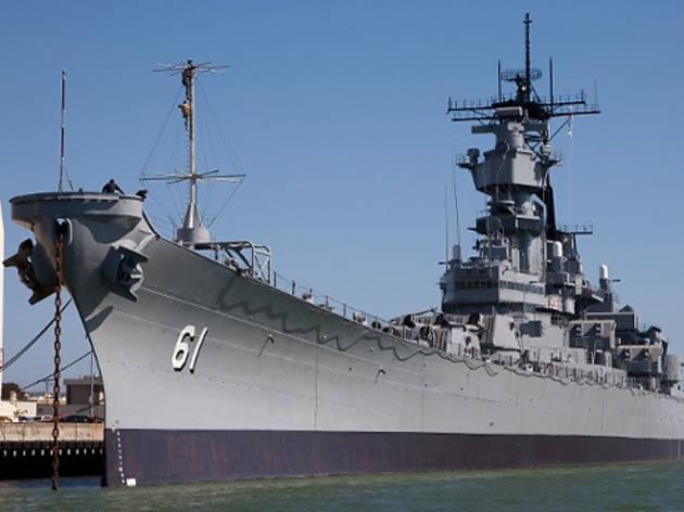 USS Iowa.