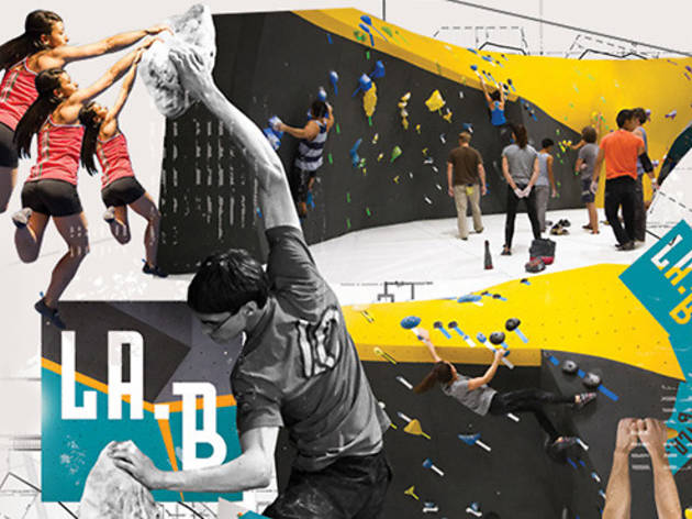 LA Boulders Grand Opening and Competition