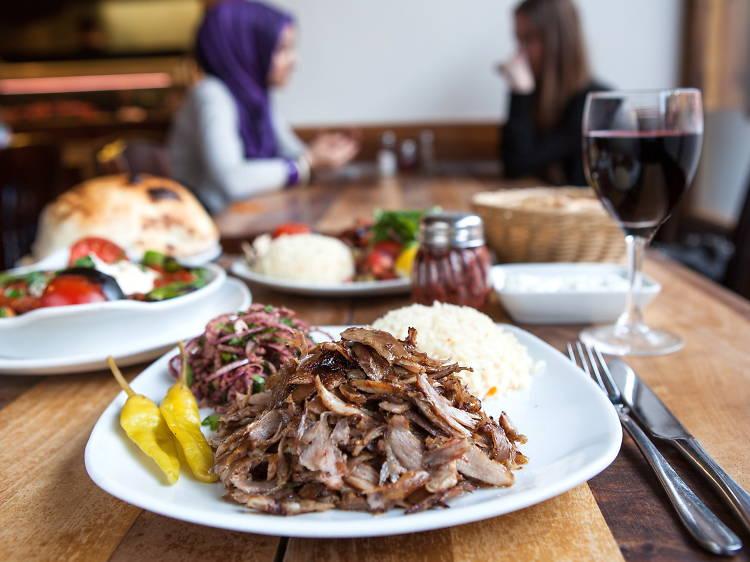 Eat amazing Turkish food on Green Lanes