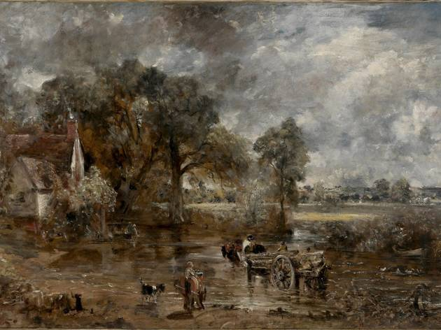 John Constable ('Full-scale study for Hay Wain' c1821. © Victoria and Albert Museum, London)