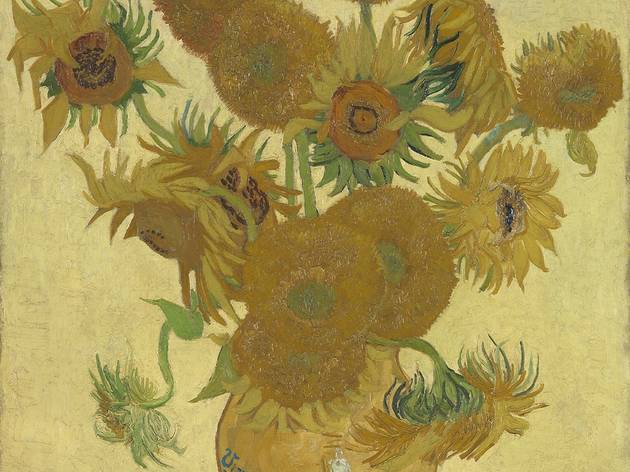 Vincent van Gogh ('Sunflowers', 1888. © The National Gallery, London)