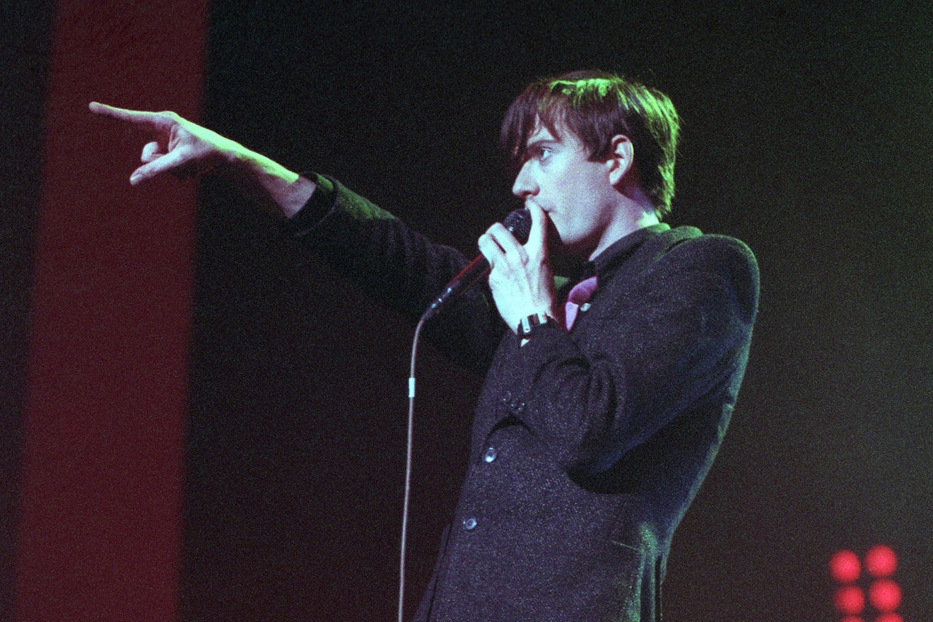 Jarvis Cocker, Pulp, Brixton Academy, December 21 1995