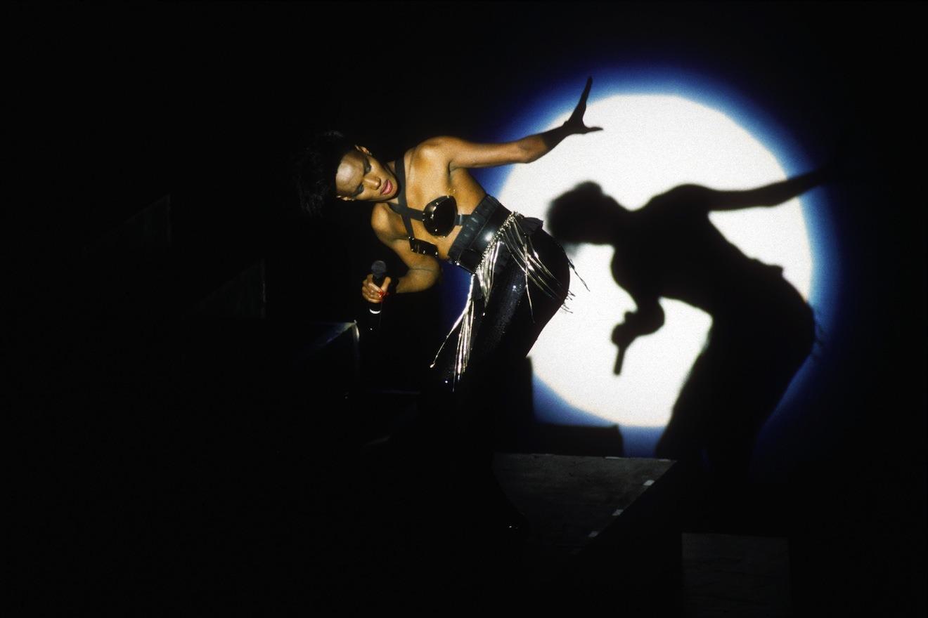 Grace Jones, Brixton Academy, March 1990
