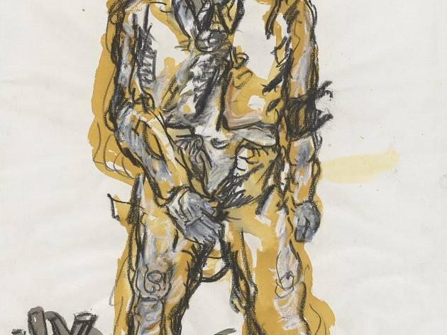 Georg Baselitz (b.1938) ('Ein neuer Typ ('A New Type')', 1965)
