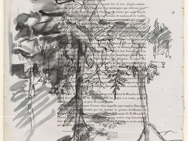 Georg Baselitz (b.1938) ('Birken (Paysage) ('Birch Trees (Paysage)')', 1972)