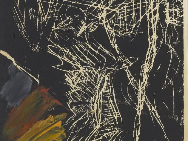 Georg Baselitz (b.1938) ('Fliegender Adler ('Flying Eagle')', 1977)