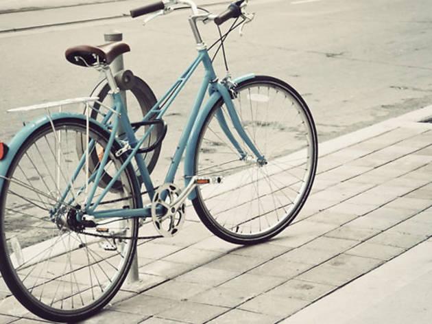 El DF en bici