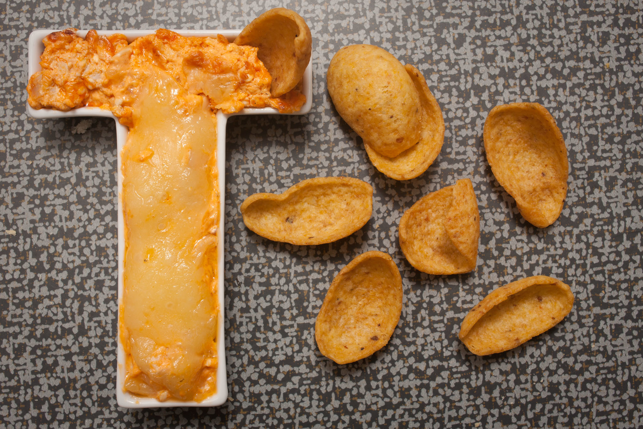 CH Distillery's executive chef JP Doiron gave us his recipe for hot wing dip to make during Super Bowl 2014.
