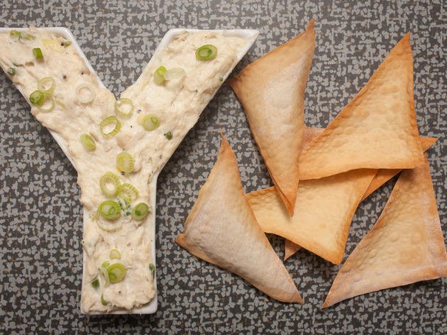 Rodelio Aglibot from e+o and the forthcoming Yum Cha shared his recipe for crab rangoon dip to make while watching Super Bowl 2014.