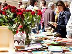 Sant Jordi 2015 on La Rambla