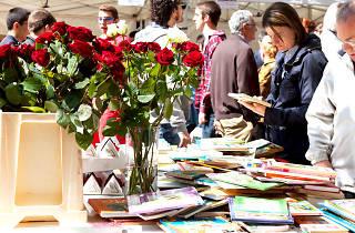 Sant Jordi 2015 en La Rambla