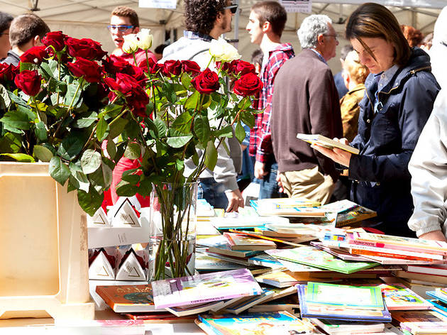 Sant Jordi: a book and a rose