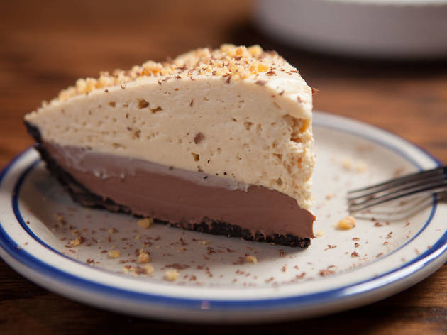 The peanut butter pie at Bub City is one of the best pies in Chicago.