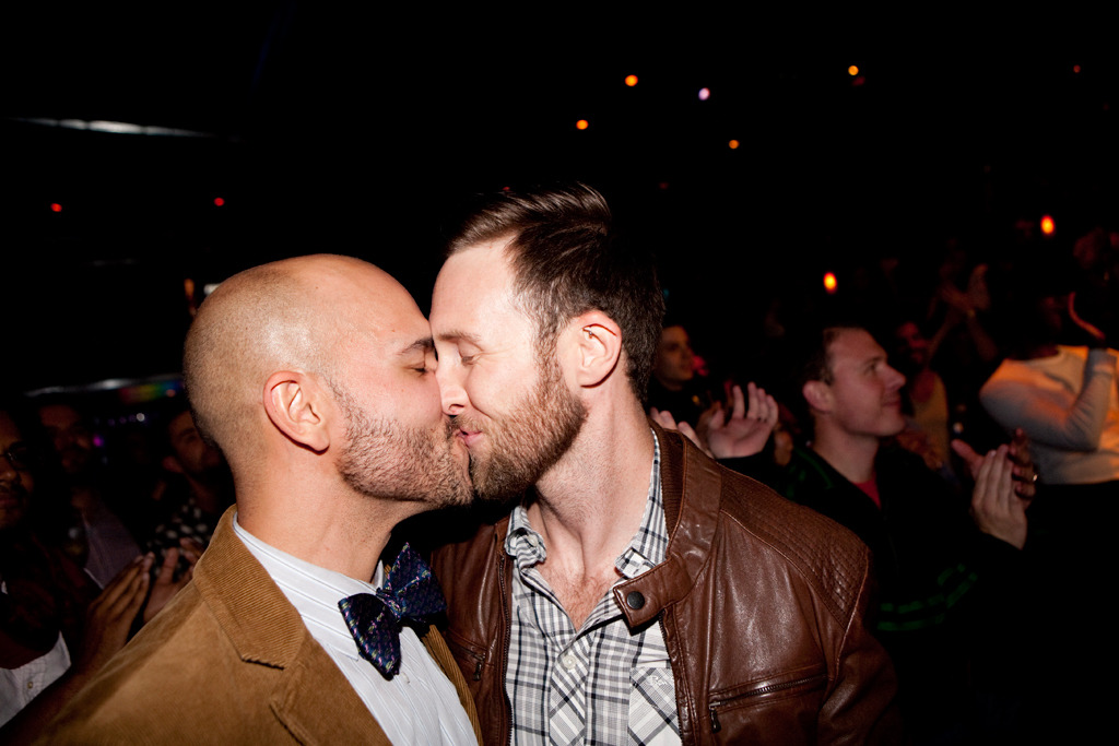 Illinois marriage equality celebration at Sidetrack: photos