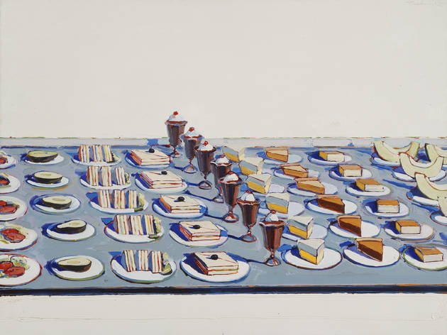 (Photo courtesy of the Art Institute of Chicago. � Wayne Thiebaud/Licensed by VAGA, New York, NY.)