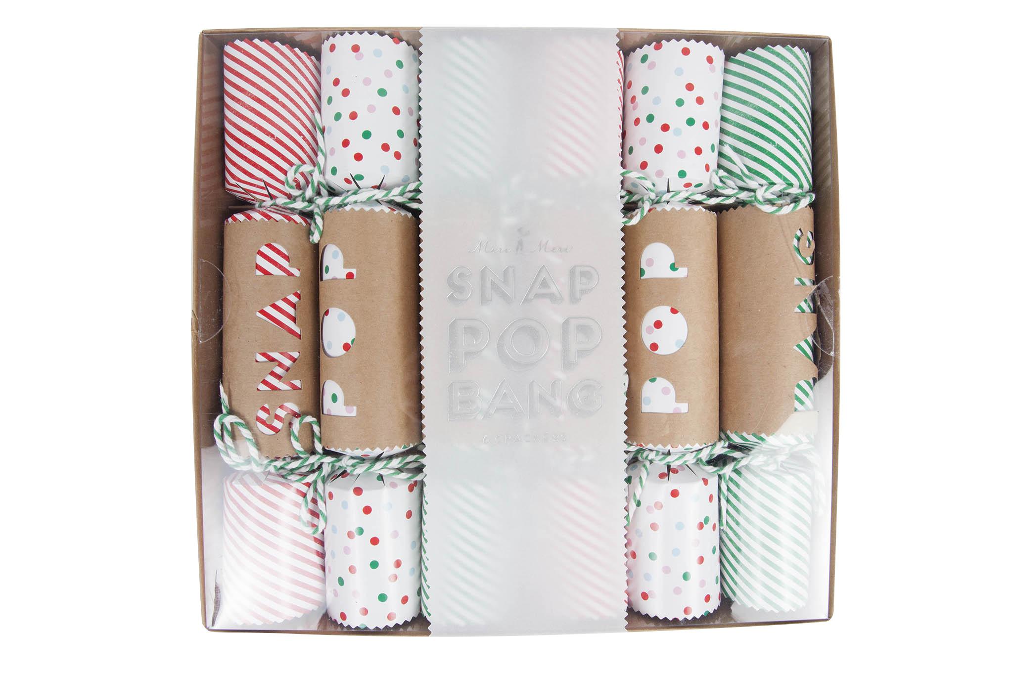 Stylish Christmas crackers