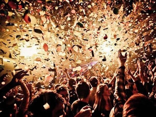 Some of Chicago's biggest New Year's Eve parties this year funnel into one giant bash at the Hard Rock Cafe.