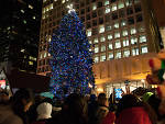 The city flips the switch on the holiday season with the lighting of the Daley Plaza Christmas tree, one of Chicago's best Christmas events.