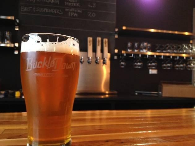 BuckleDown Brewing's Belt & Suspenders is one of the Lyons' breweries first offerings.