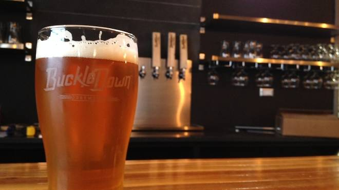 BuckleDown Brewing's Belt & Suspenders is one of the Lyons' breweries first offerings.
