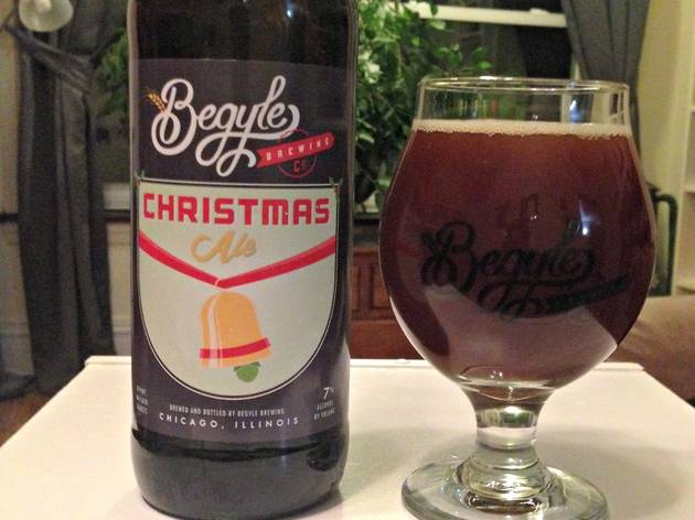 Begyle Brewing's Christmas Ale