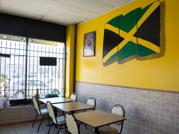 Jamaican Jerk Spice, which has tender oxtails, is a great Chicago Jamaican restaurant.