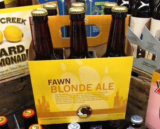 4 Paws Brewing's Fawn Blonde Ale