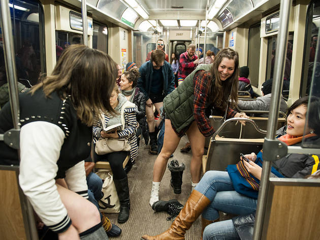 2014 No Pants Subway Ride