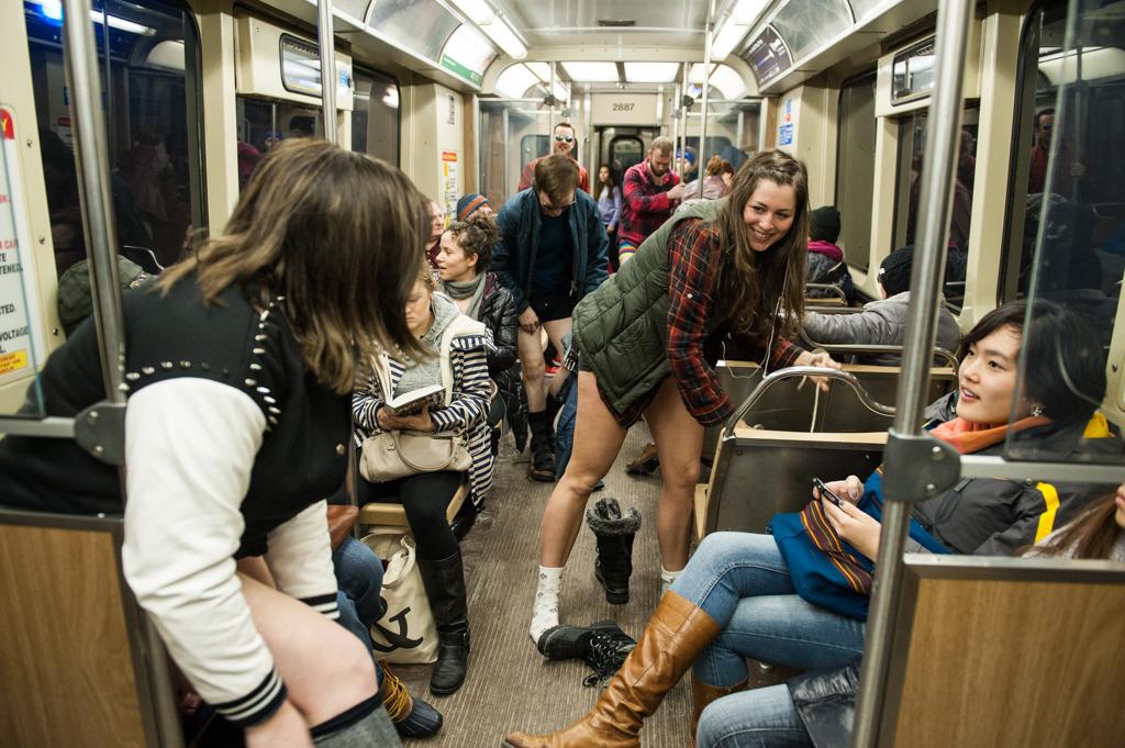 2014 No Pants Subway Ride