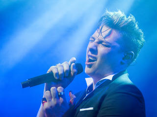 Rising British star John Newman made his Chicago debut for the Tomorrow Never Knows Festival 2014 at Lincoln Hall, January 18, 2014.
