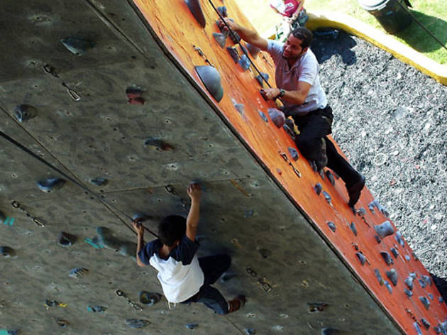 CERRADO: Escalódromo Carlos Carsolio