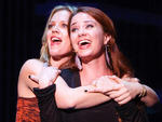 "Elizabeth Stanley and Sierra Boggess singing ""Tonight"" at Brodway Backwards"