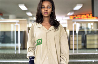 ('Trader', Ethiopian Commodity Exchange, Sept. 2012 © Mark Curran)
