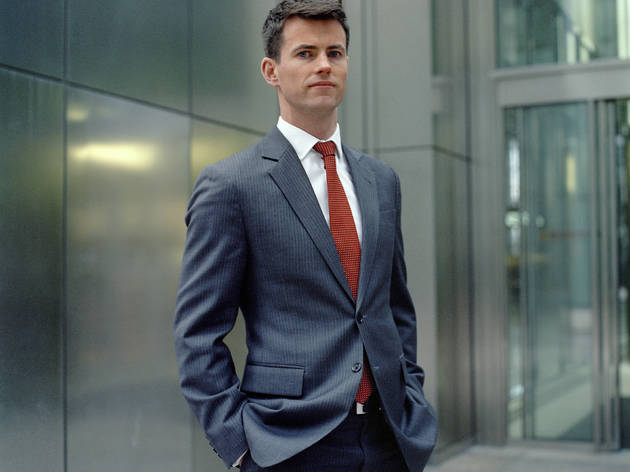 ('Matthew, Banker' - Canary Wharf, Londres, Mars 2013 © Mark Curran)