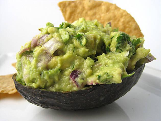 L.A.-style guacamole