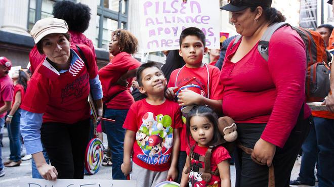Chicago Teacher's Strike, September 10, 2012