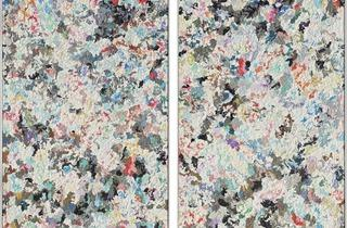 Dan Rees ('Untitled (diptych)', 2011)