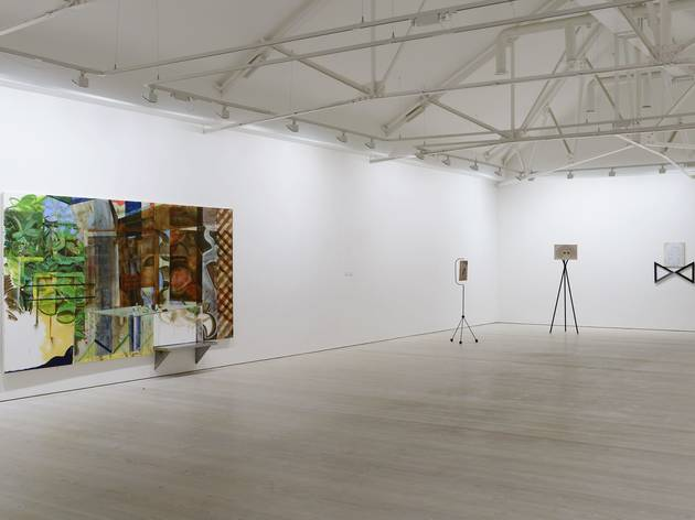 New Order II (Exhibition view featuring work by George Little and Kate Hawkins)