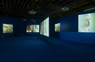 Isaac Julien (Installation view 'PLAYTIME', 2014)