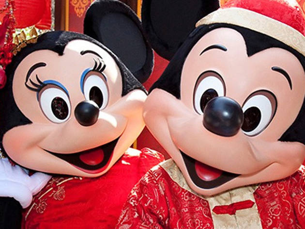 Lunar New Year Celebration at Disney California Adventure Park.