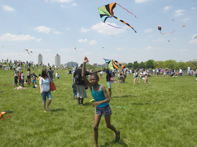 14th Annual Kids and Kites Festival, May 19, 2012.