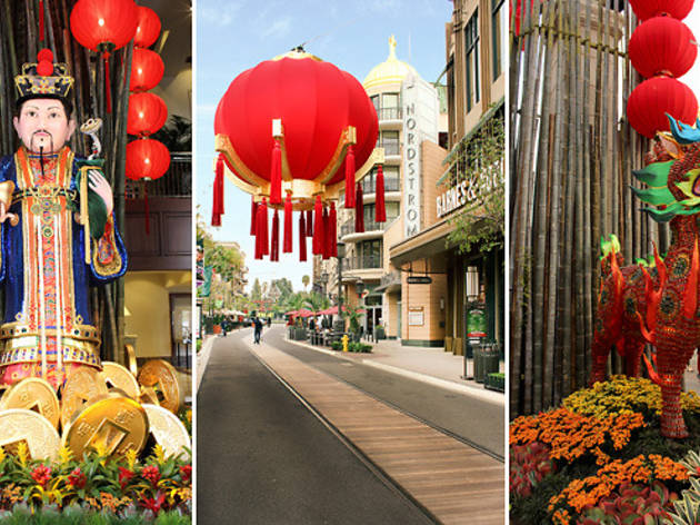 Lunar New Year at the Grove and the Americana at Brand