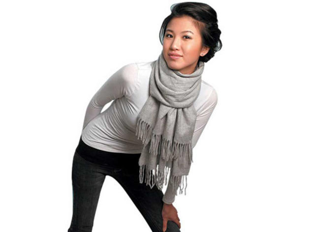 how to tie a winter scarf