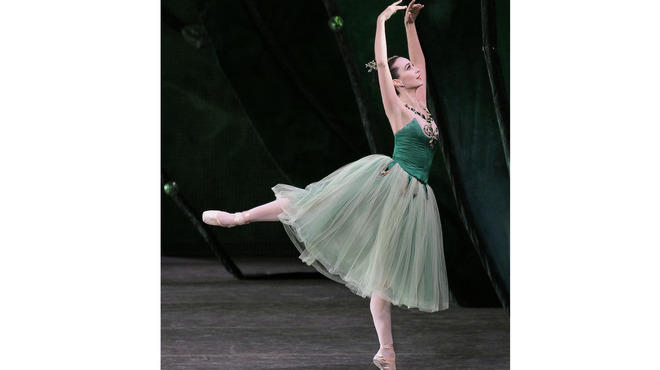 Jenifer Ringer performs with New York City Ballet