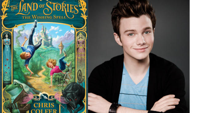 "Actor Chris Colfer of Glee fame now adds ""author"" to his resume, with The Land of Stories: The Wishing Spell."