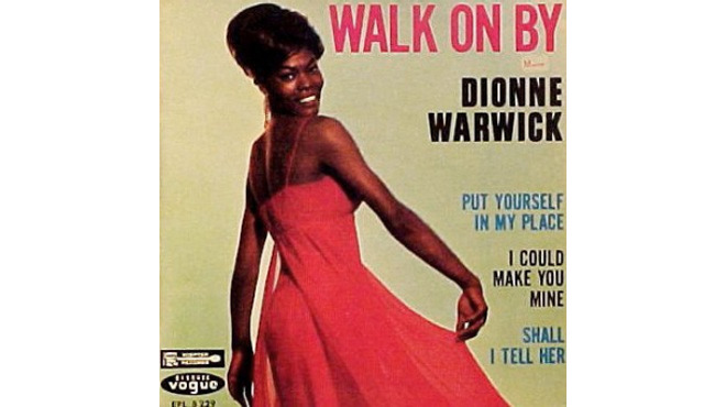 'Walk on By' – Dionne Warwick