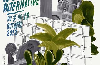 (Formes Vives, affiche réalisée pour l'association de vidéo brestoise Canal Ti Zef, 2012)