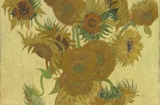 Vincent van Gogh ('Sunflowers' 1888)